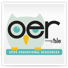 OER, Open Educational Resources, powered by ISLE